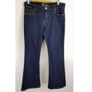 Kut from the Kloth Jeans Dark Wash Flare Leg 10